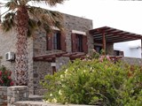 Traditional stone house with swimming pool in Naoussa